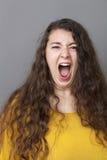 Stor dam som ropar på dig Royaltyfri Fotografi