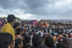Stor Dasara procession Arkivbild
