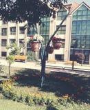 Stor design i den Ifrane staden Fotografering för Bildbyråer
