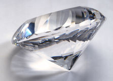 stor diamant Arkivfoton
