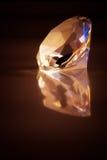 stor diamant Arkivfoto