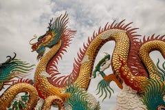 stor drakestaty Arkivbild