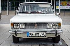Stor familjebil Fiat 125 Sakkunnig, 1971 Fotografering för Bildbyråer