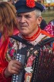 Stor festkonsert i hedern av årsdagen för th 536 av befrielsen av Ryssland från detTatar oket i den Kaluga regionen arkivbild