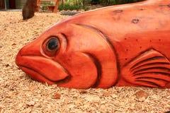 stor fisk Arkivfoto