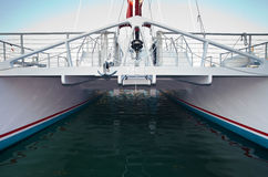 Stor fiskebåt Arkivbild
