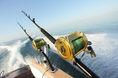 stor fiskelek Royaltyfri Foto