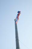 Stor flagga av Thailand Arkivbild