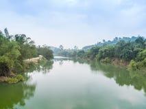 Stor flod Thailand Arkivbild