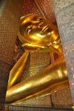 Stor framsida för Buddha sömnkust Royaltyfri Fotografi