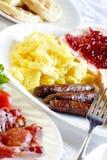 stor frukost Arkivbilder