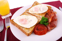 stor frukost Royaltyfria Foton