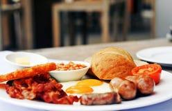 Stor frukost av mästare Arkivbild