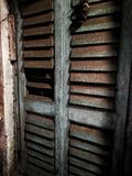 Stor gammal dörr Royaltyfri Foto