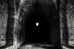 Stor gammal slott från inre av Damascus royaltyfria foton