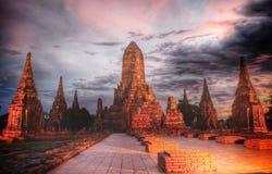 Stor gammal tempel Arkivbilder