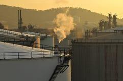 Stor gasbehållare Arkivfoton