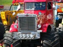 stor gigantisk pete lastbil Royaltyfria Foton