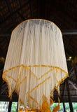 Stor girlandblomma Lanna Style på Thailand Arkivbilder