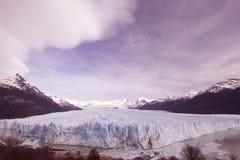 stor glaciär Arkivbilder
