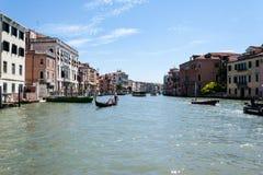Stor Grand Canal kanal Arkivbilder