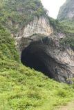 stor grotta arkivbild