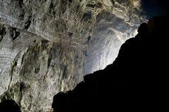 stor grotta inom royaltyfri foto
