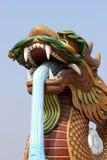 Stor guld- drake Arkivfoto