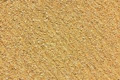 Stor guld- sand av havet, yttersidan av havskusten, textur, bakgrund royaltyfri fotografi