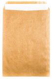Stor guling återanvände kuverthantverkdokumentet med pappers- bokstav c Royaltyfria Bilder