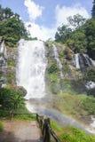 Stor härlig vattenfall Royaltyfri Bild