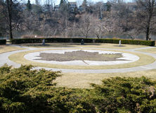 stor hög lönnpark toronto för leaf 2010 Royaltyfri Bild