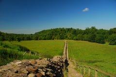 stor hadrian s vägg för britain land arkivbilder