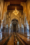 Stor hassan II moské Arkivbild