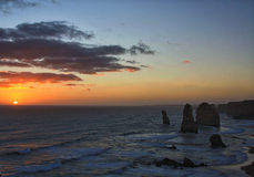 Stor havväg Australien för 12 apostlar Arkivbild