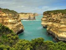 stor havväg för klippor Arkivbild