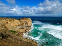 Stor havvägväg i Victoria, Australien Arkivbild