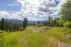 Stor himmel EZ, Montana royaltyfri foto