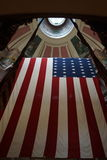 Stor historisk amerikanska flaggan Royaltyfria Bilder