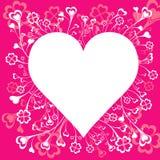 stor hjärtavektor Arkivfoton