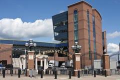 stor husmichigan stadion royaltyfria foton