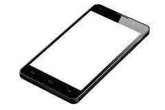 Stor isolerad Smartphone tom skärm Arkivfoto