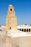 stor kairouan moské Royaltyfri Fotografi