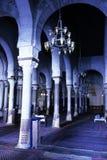 stor kairouan moské tunisia Fotografering för Bildbyråer