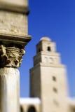 stor kairouan moské tunisia Arkivfoto