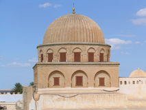 stor kairouan moské tunisia Arkivbilder