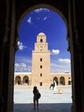 stor kairwan moské arkivbilder