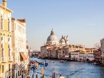 Stor kanal, Venedig Royaltyfria Bilder