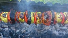 Stor kebab Royaltyfria Bilder