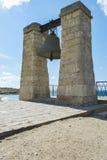 Stor klocka i Chersonesusen i Krim royaltyfri foto